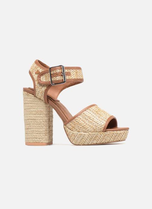 Sandales et nu-pieds Gioseppo Banain Beige vue derrière