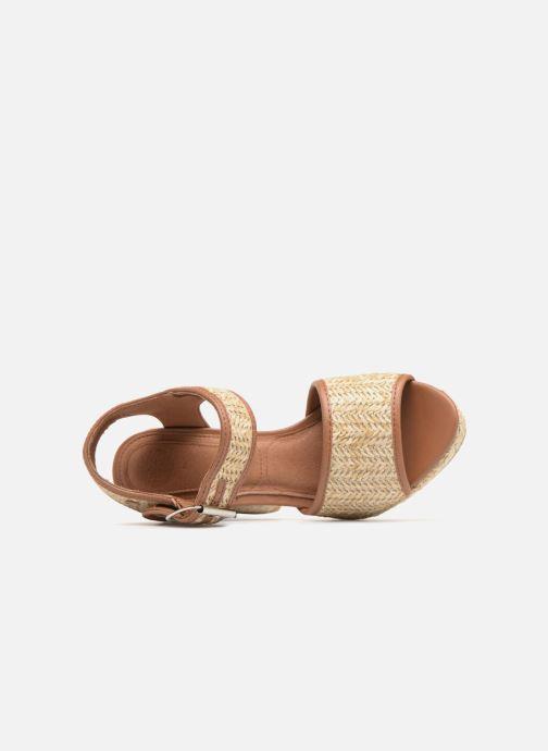 Sandales et nu-pieds Gioseppo Banain Beige vue gauche