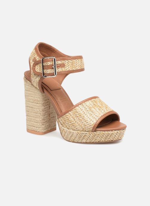 Sandales et nu-pieds Gioseppo Banain Beige vue détail/paire