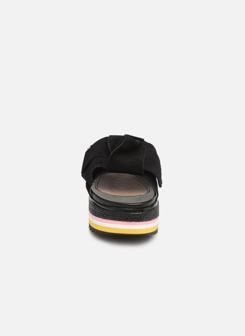 Mules et sabots Gioseppo Ranban Noir vue portées chaussures