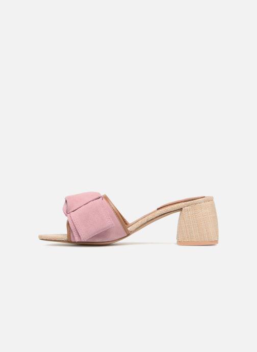 Clogs & Pantoletten Gioseppo Kelcel rosa ansicht von vorne