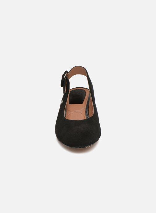 Escarpins Gioseppo Isas Noir vue portées chaussures