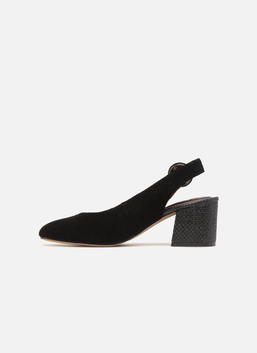 Zapatos de tacón Gioseppo Isas Negro vista de frente