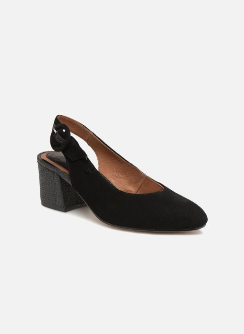 High heels Gioseppo Isas Black detailed view/ Pair view