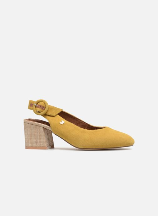 High heels Gioseppo Isas Yellow back view