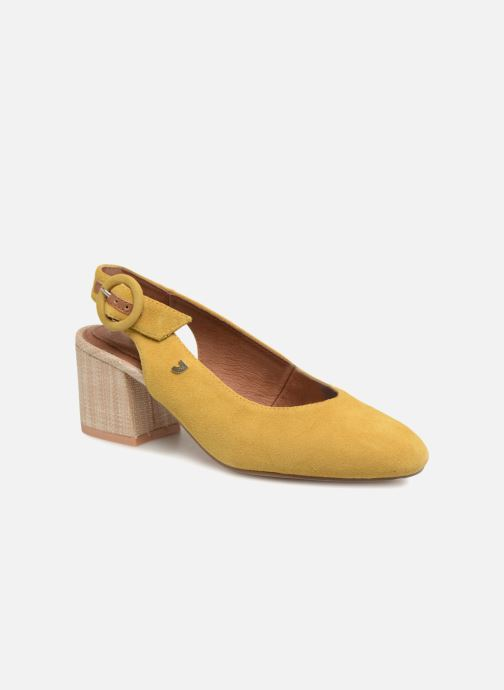High heels Gioseppo Isas Yellow detailed view/ Pair view