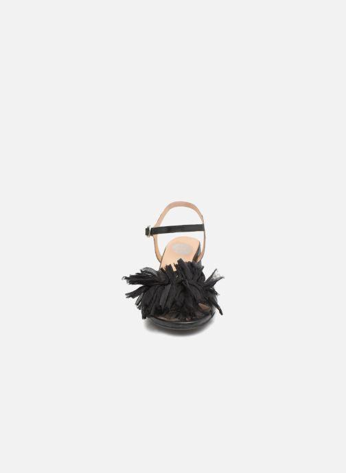 Sandalen Gioseppo Ulmynos schwarz schuhe getragen