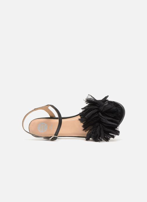 Sandales et nu-pieds Gioseppo Ulmynos Noir vue gauche