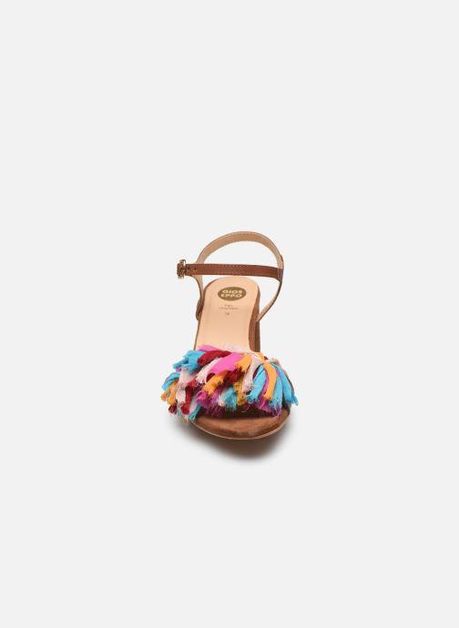 Sandales et nu-pieds Gioseppo Ulmynos Marron vue portées chaussures