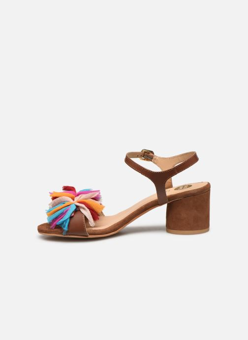 Sandales et nu-pieds Gioseppo Ulmynos Marron vue face