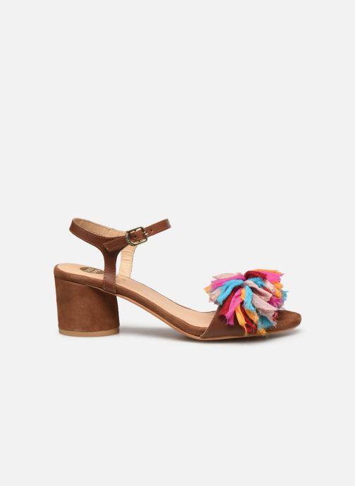 Sandales et nu-pieds Gioseppo Ulmynos Marron vue derrière