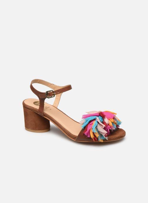 Sandales et nu-pieds Gioseppo Ulmynos Marron vue détail/paire