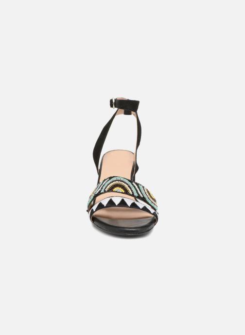 Sandales et nu-pieds Gioseppo Enin Noir vue portées chaussures