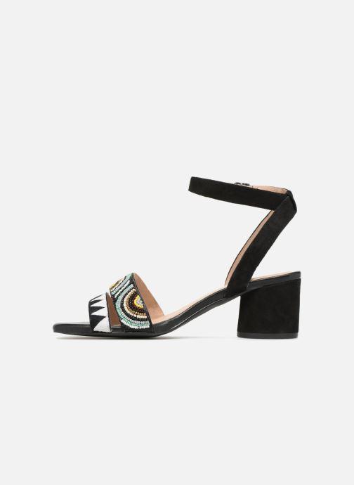 Sandales et nu-pieds Gioseppo Enin Noir vue face