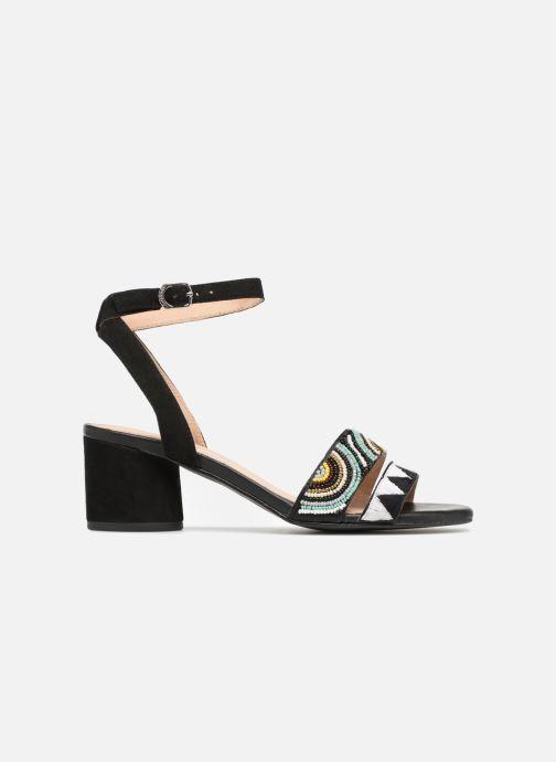 Sandales et nu-pieds Gioseppo Enin Noir vue derrière