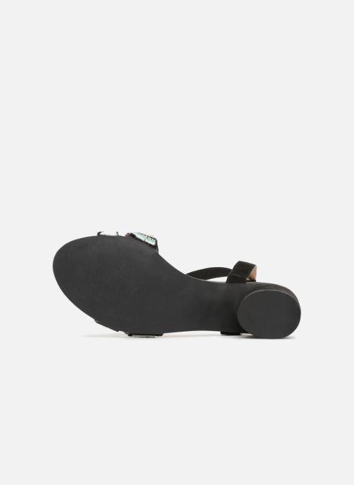 Sandales et nu-pieds Gioseppo Enin Noir vue haut