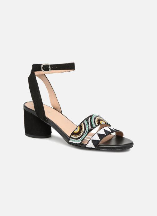 Sandales et nu-pieds Gioseppo Enin Noir vue détail/paire