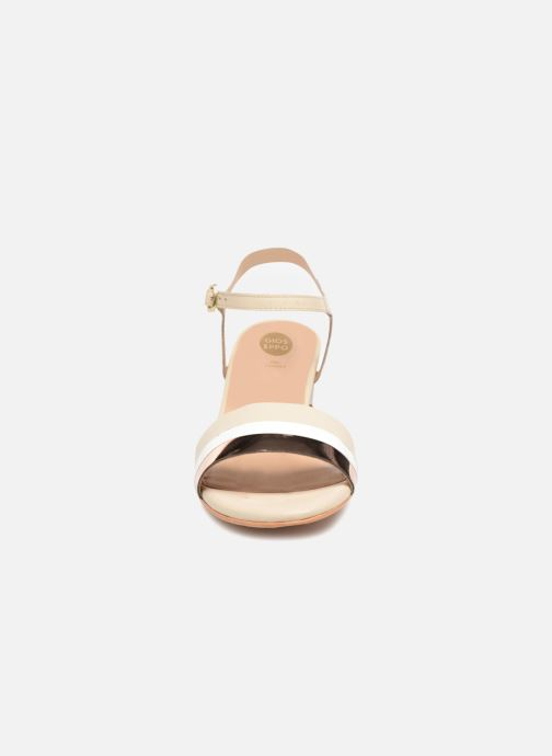 Sandalen Gioseppo Gonman beige schuhe getragen