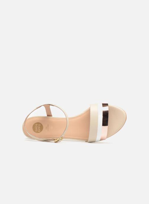Sandales et nu-pieds Gioseppo Gonman Beige vue gauche