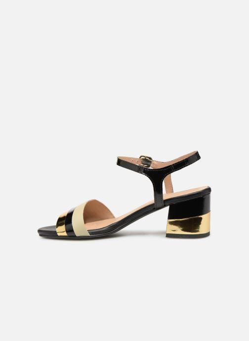 Sandales et nu-pieds Gioseppo Gonman Noir vue face