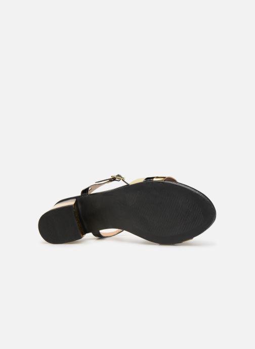 Sandales et nu-pieds Gioseppo Gonman Noir vue haut