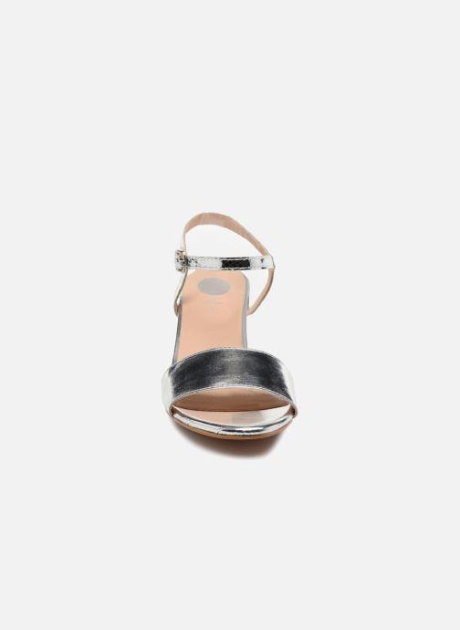 Sandales et nu-pieds Gioseppo Losbel Argent vue portées chaussures