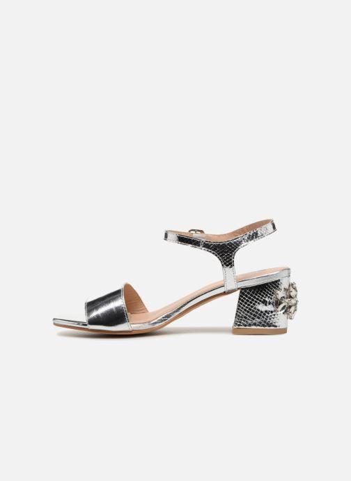 Sandales et nu-pieds Gioseppo Losbel Argent vue face
