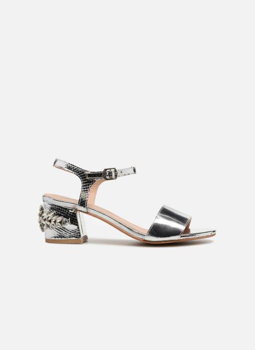 Sandales et nu-pieds Gioseppo Losbel Argent vue derrière