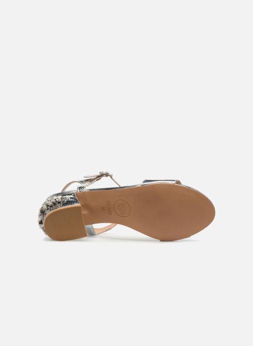 Sandales et nu-pieds Gioseppo Losbel Argent vue haut