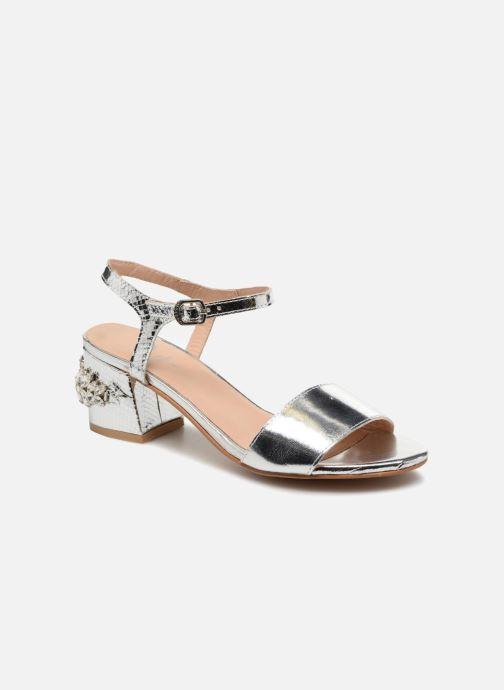 Sandales et nu-pieds Gioseppo Losbel Argent vue détail/paire