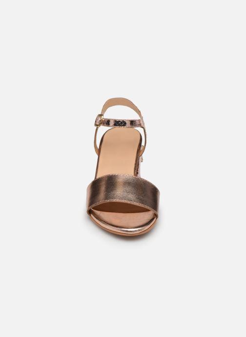 Sandales et nu-pieds Gioseppo Losbel Rose vue portées chaussures