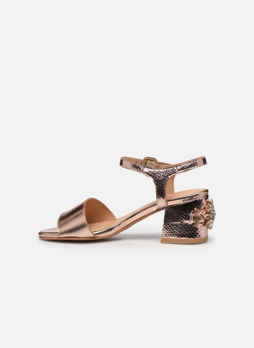 Sandales et nu-pieds Gioseppo Losbel Rose vue face