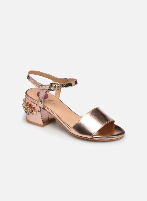 Sandales et nu-pieds Gioseppo Losbel Rose vue détail/paire