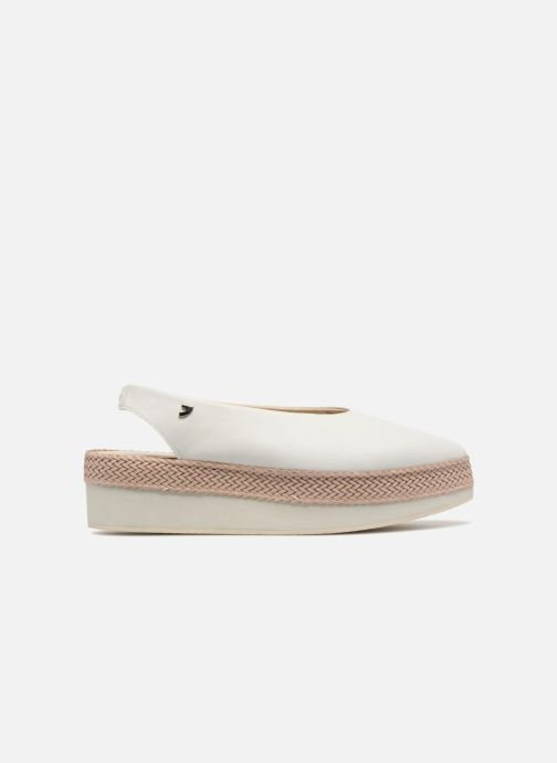 Sandals Gioseppo Helbil White back view
