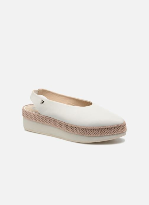 Sandals Gioseppo Helbil White detailed view/ Pair view