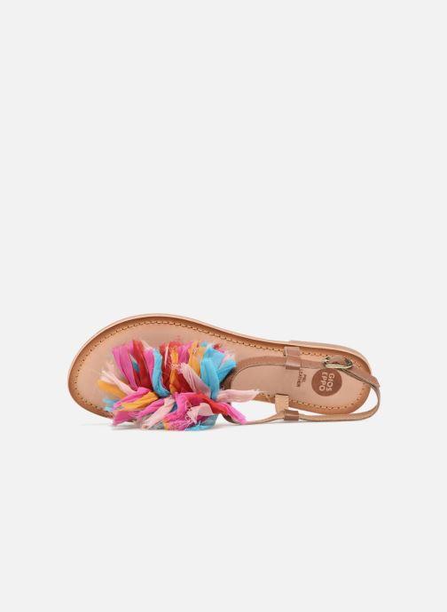 Sandales et nu-pieds Gioseppo Sixtine Multicolore vue gauche