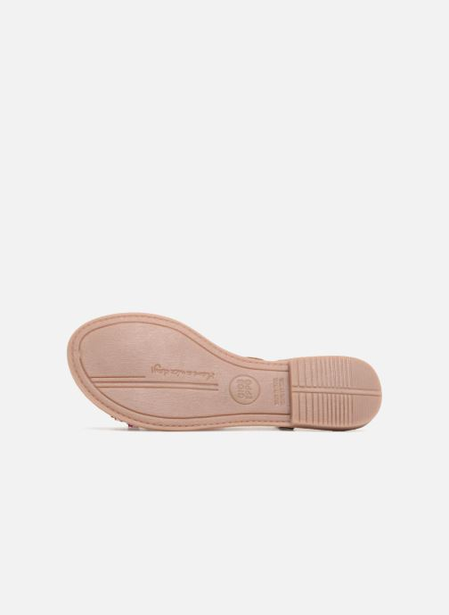 Sandales et nu-pieds Gioseppo Sixtine Multicolore vue haut