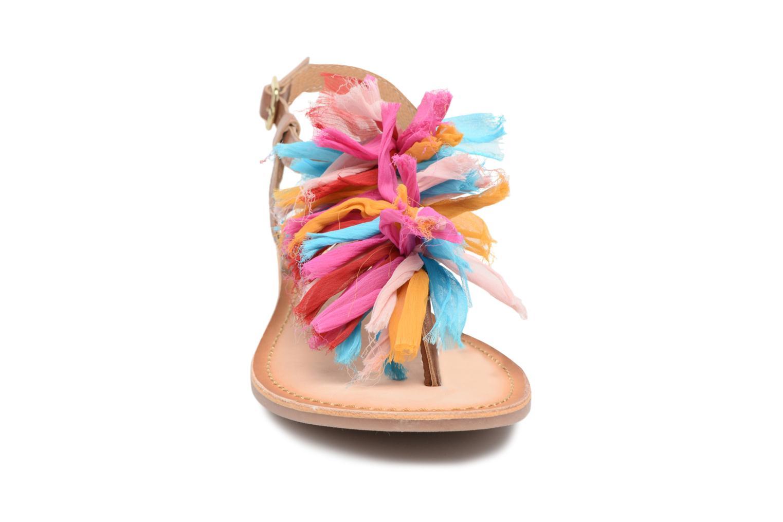 Sandales et nu-pieds Gioseppo Sixtine Multicolore vue portées chaussures