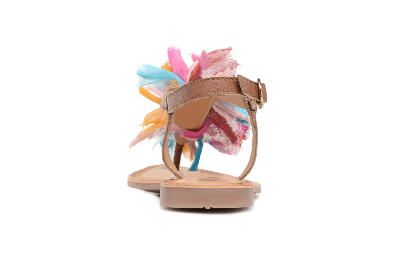 Sandales et nu-pieds Gioseppo Sixtine Multicolore vue droite