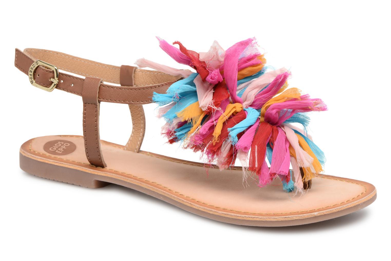 Sandales et nu-pieds Gioseppo Sixtine Multicolore vue détail/paire