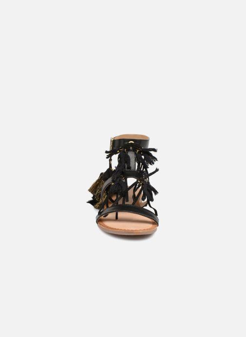 Sandalen Gioseppo Banroc schwarz schuhe getragen