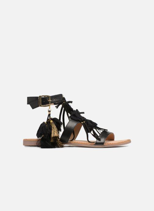 Sandalen Gioseppo Banroc schwarz ansicht von hinten