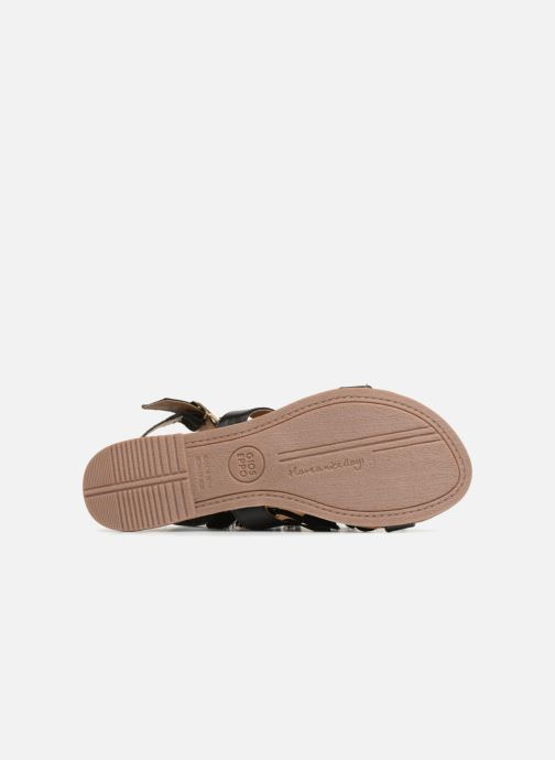 Sandals Gioseppo Banroc Black view from above