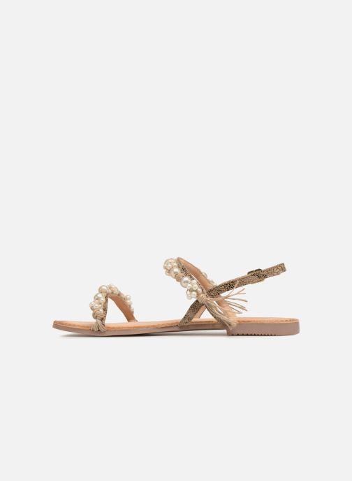 Sandalen Gioseppo Limith braun ansicht von vorne