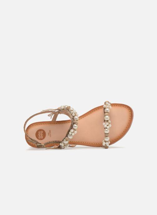 Sandales et nu-pieds Gioseppo Limith Marron vue gauche