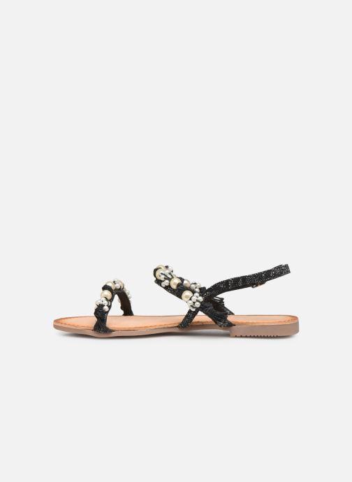 Sandales et nu-pieds Gioseppo Limith Noir vue face