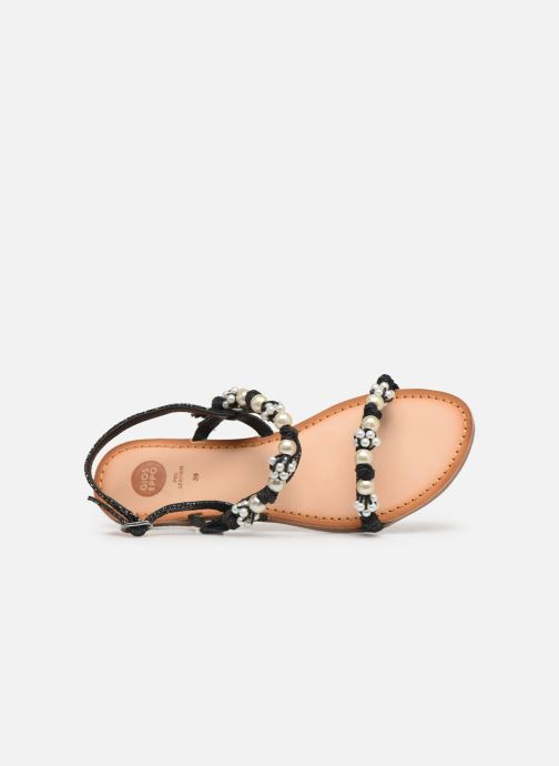 Sandales et nu-pieds Gioseppo Limith Noir vue gauche