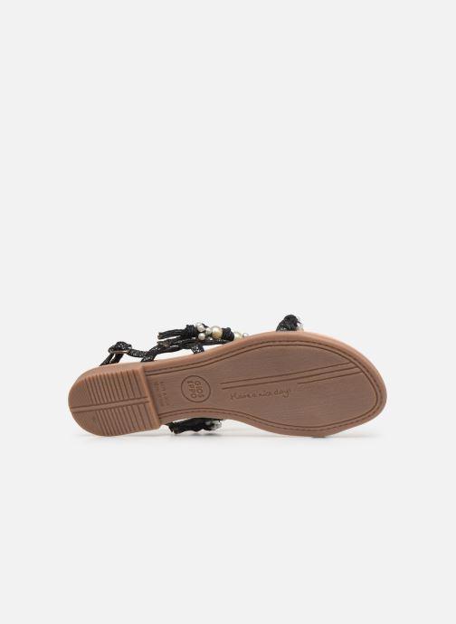 Sandales et nu-pieds Gioseppo Limith Noir vue haut