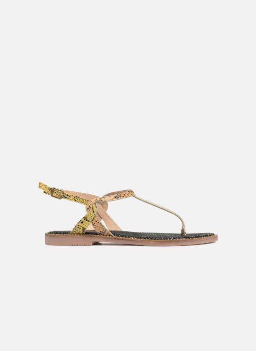 Sandales et nu-pieds Gioseppo Iicolo Or et bronze vue derrière