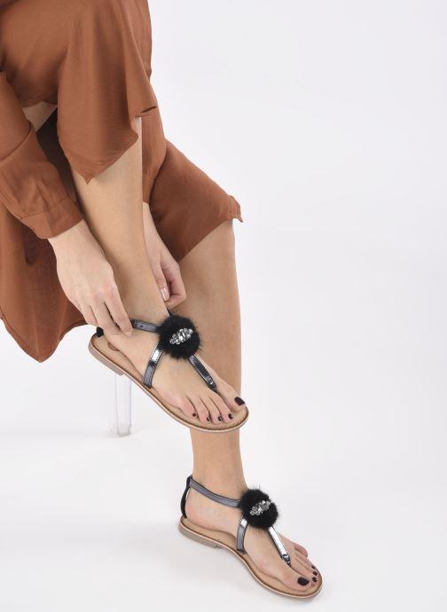 Sandali e scarpe aperte Gioseppo Hevafe Nero immagine dal basso
